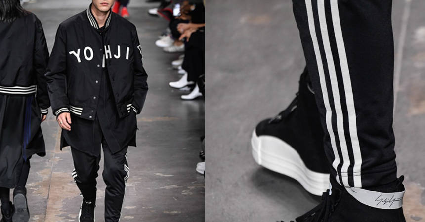 Y-3 Fall Winter collection Start