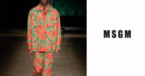 MSGM 2020S&S collection