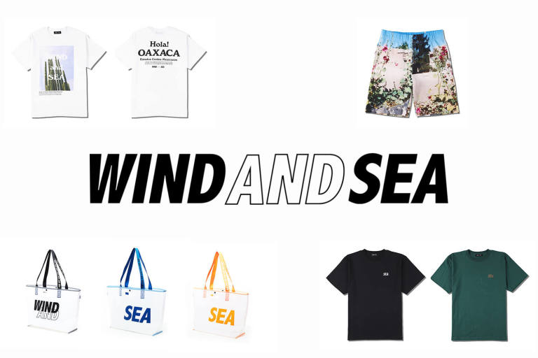 WIND AND SEA 4-25(Sat) Releaseアイテム