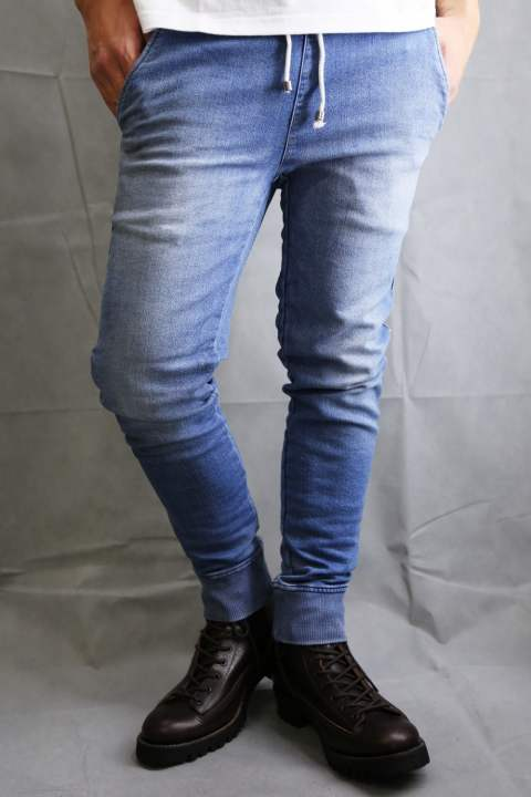 Johnson HEAVY SWEAT DENIM PT INDIGO B