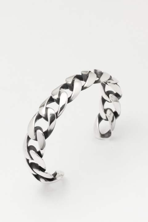 ⅩⅢCHAIN BANGLE SILVER IBUSHI