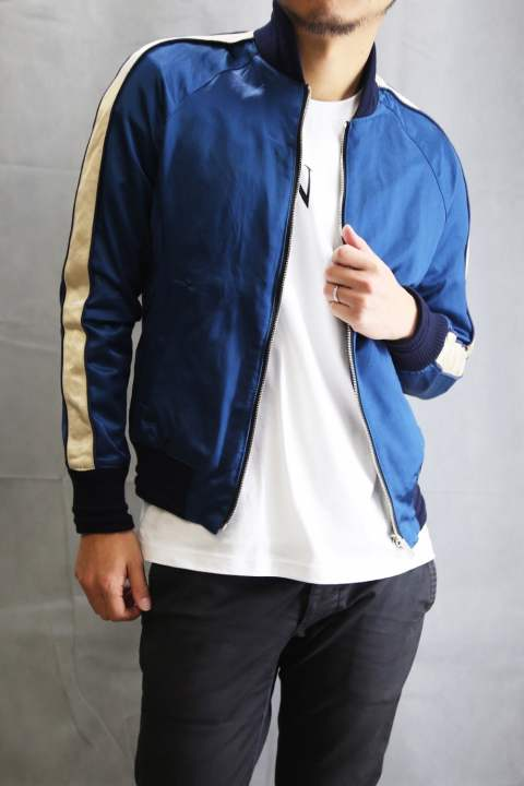 SUKA-JACKET NAVYxBLUE