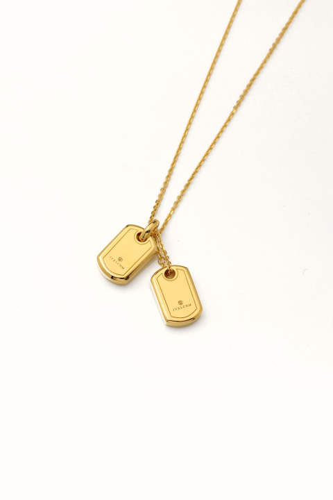 SMALL LOGO DOGTAG W Pendant GD