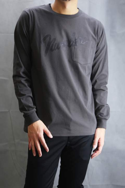 POCKET LONG T-SHIRTS_number9  Charcoal