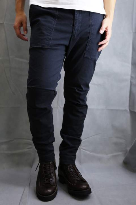 TIGHT BAKER PANTS D.GRY
