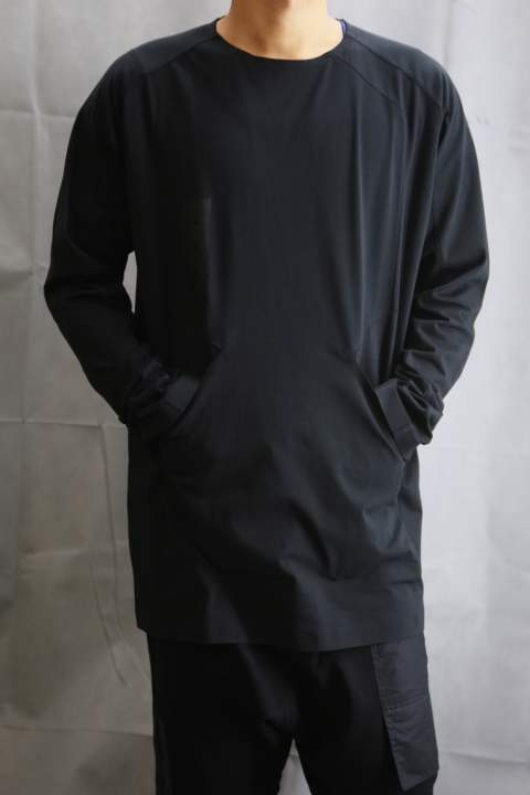 SKYLIGHT L/S TEE  BLACK