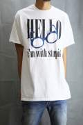 HELLO DAMAGE T-SHIRT White