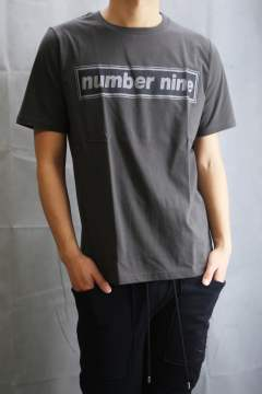 T-SHIRTS_number nine CHARCOAL