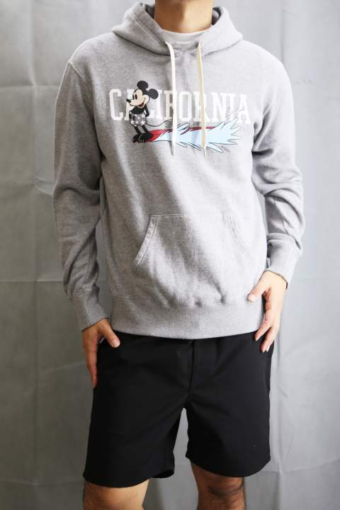 Hooded Parka (MICKEY MOUSE) top gray