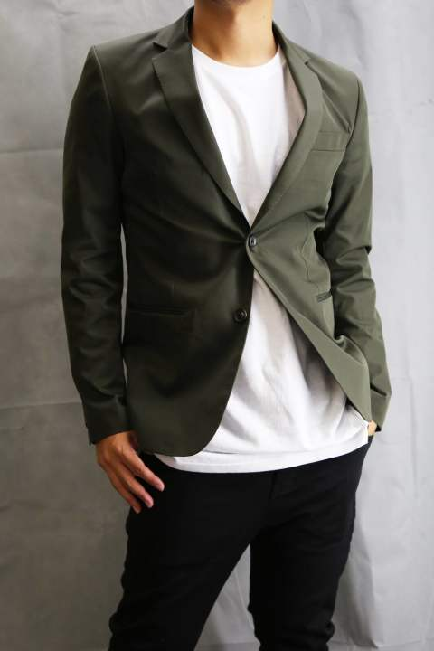 EASY SINGLE JACKET KHAKI.