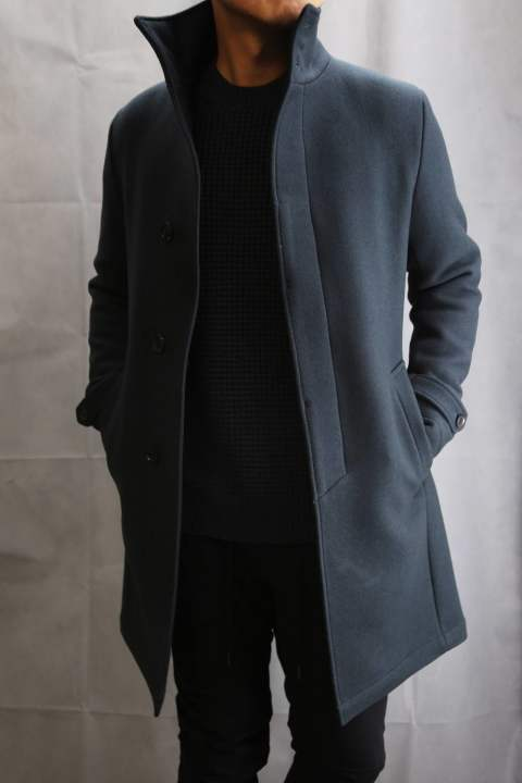 Stand Color Coat Charcoal