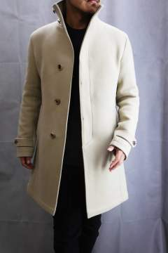 Stand Color Coat Beige