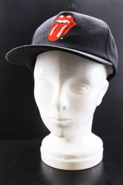 The Rolling Stones×Marbles 5Panel Cap Black