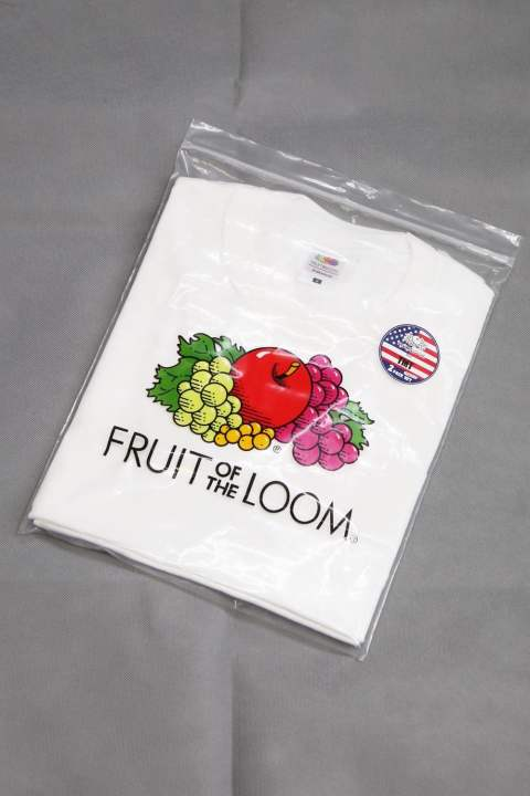 TMT×FRUITS OF THE LOOM  PACK-TEE White