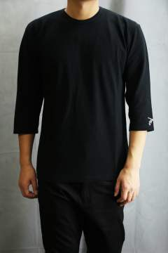 PISTOL HOT FIX 七分Tシャツ Black
