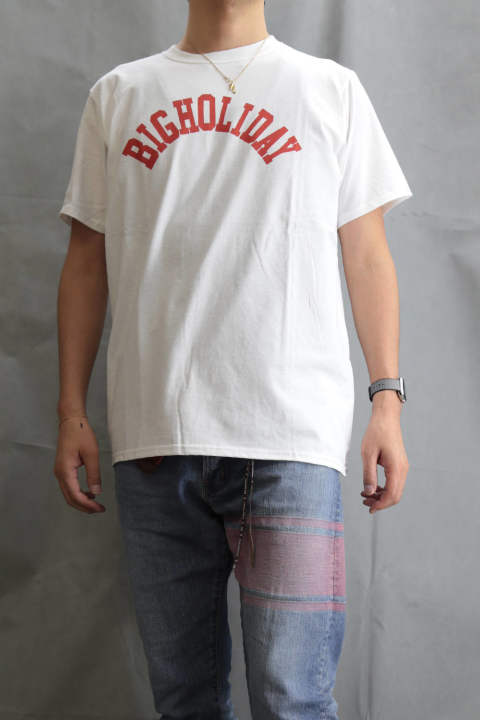 TMT×FRUIT OF THE LOOM TEE (BIGHOLIDAY) White