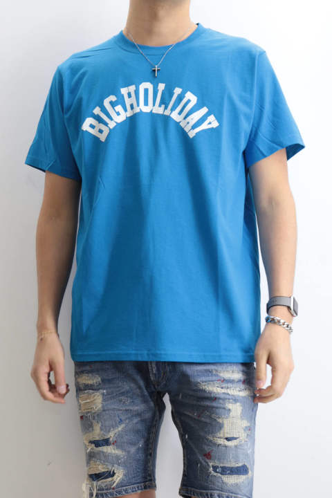 TMT×FRUIT OF THE LOOM TEE (BIGHOLIDAY) Turquois
