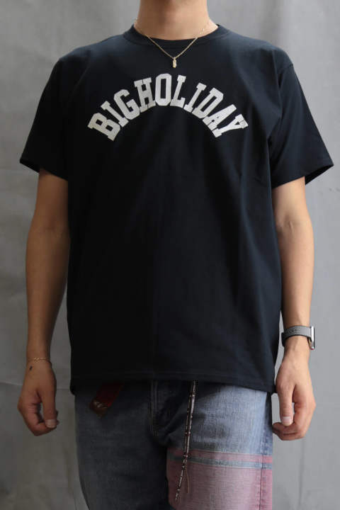 TMT×FRUIT OF THE LOOM TEE (BIGHOLIDAY) Black