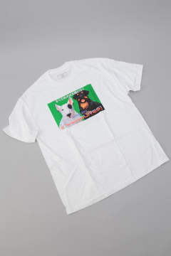 DOGGIE STYLE T-SHIRT White