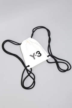 Y-3 MINI GYMBAG White