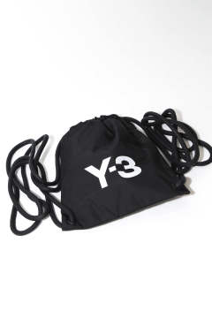 Y-3 MINI GYMBAG Black