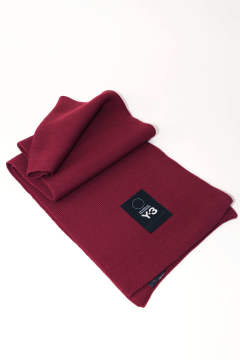 【ラスト1点】 Y-3 LOGO SCARF Red