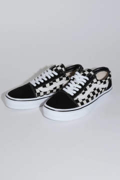 【JAPAN limited】 OLD SKOOL LITE   -オールドスクール LITE- BLK/WHT CHK