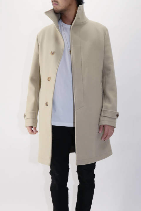 【ラスト1点Size5】 Stand Color Coat Beige