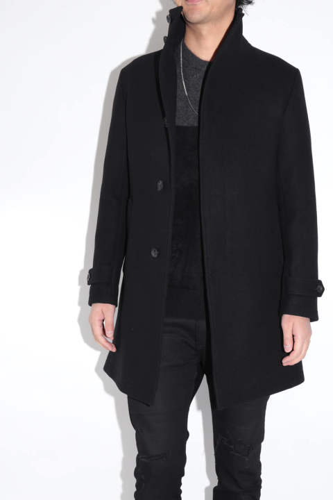 【ラスト1点 Size4】Stand Color Coat Black