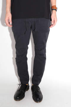 NARROW BAKER PANTS Black