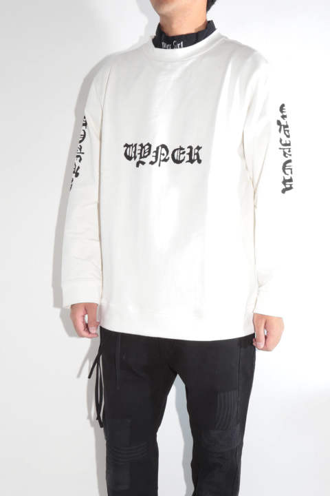 【ラスト1点 L 】 BASIC SWEAT TREATED(VYNER GOTH PRINT)