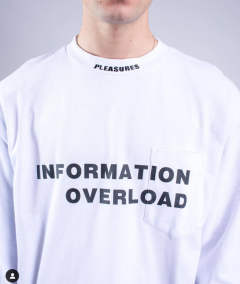 INFORMATION HEAVY WEIGHT LONG SLEEVE White