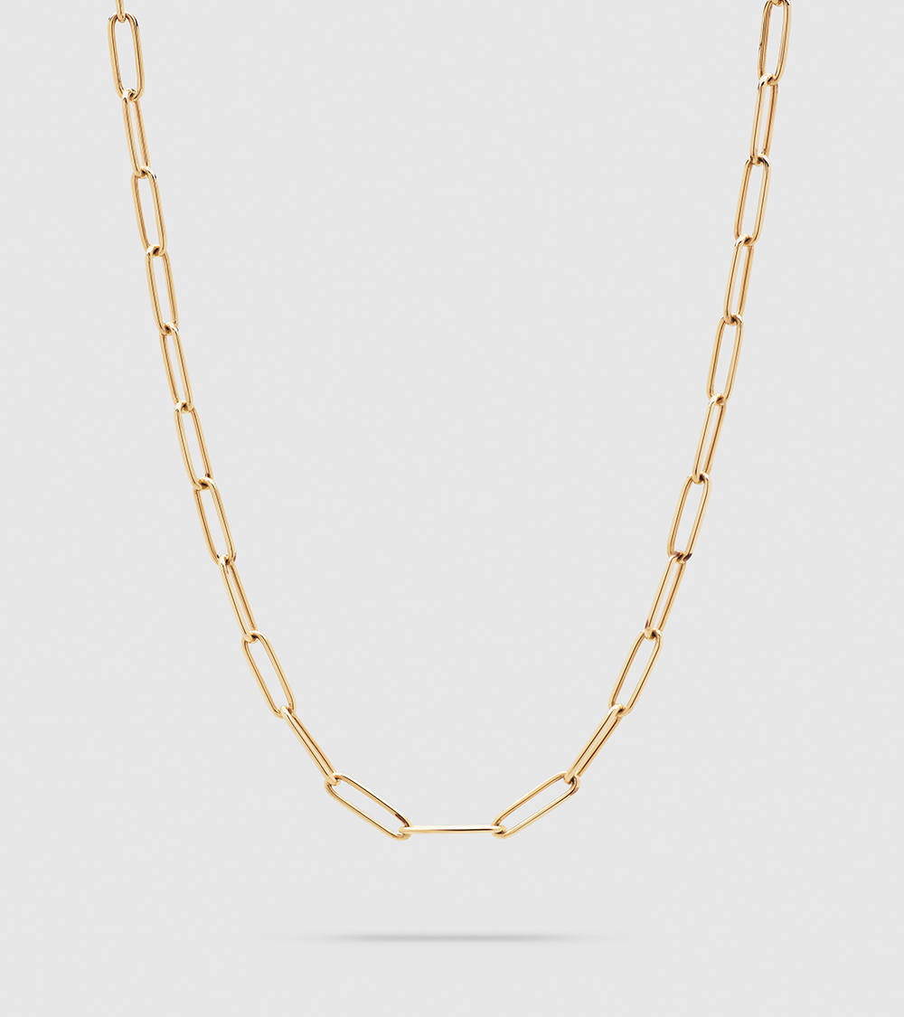 Box Chain  9K Gold   24.5Inch