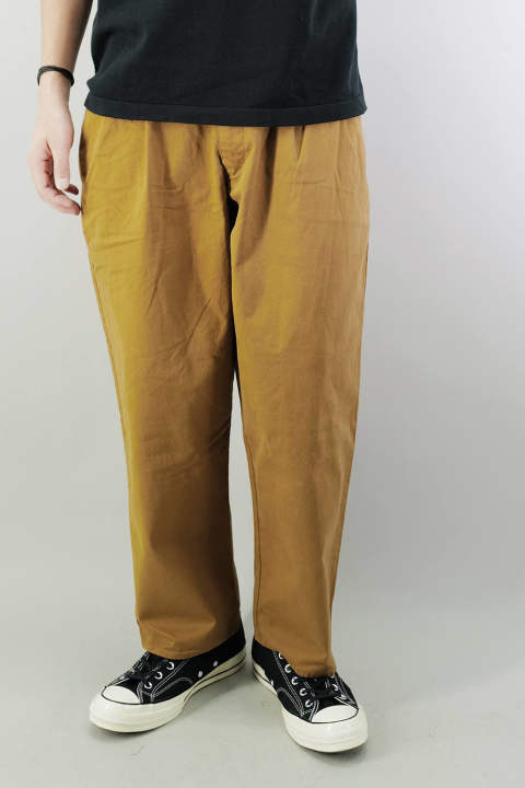 ORGANIC COTTON PANTS  Brown