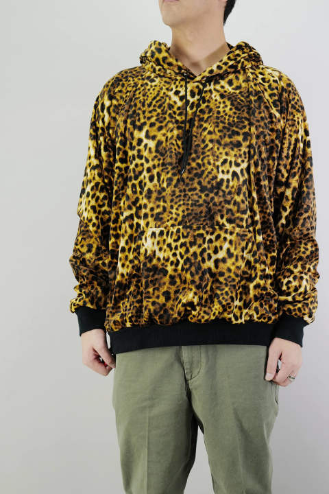 LEOPARD PARKA  Yellow