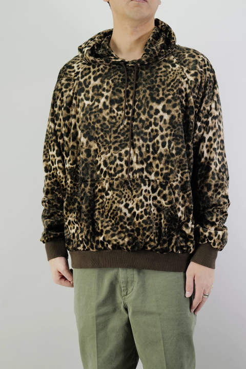 LEOPARD PARKA  Brown