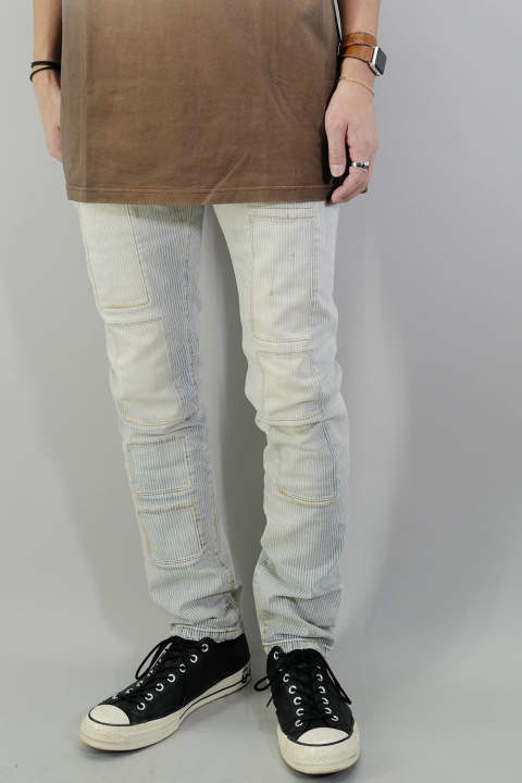 【ラスト1点Size33】 SLIM PATCH DNM Slim Patch Denim Pants