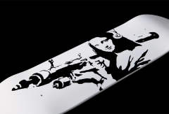"【Sync.】 SKATEBOARD DECK""MONA LAUNCHER"" 2nd"
